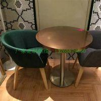 深圳自助餐厅桌子订做,家具沙发椅子定制,厂家休闲西餐厅卡座沙发椅子款式报价