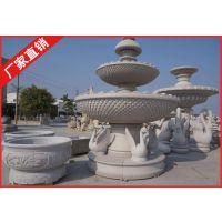 惠安石雕厂家批发 石雕水钵石材喷水池水钵喷泉水景雕塑