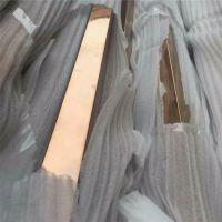 304不锈钢管子 制品管 彩色管 玫瑰金不锈钢方管30*30*0.8