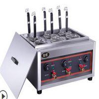 资兴六头台式煮面炉(用电) 六头台式煮面炉(用电)专业快速