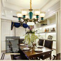 欧式吊灯客厅灯水晶灯奢华大气餐厅灯简欧卧室灯简约现代家用灯具