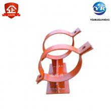 乾胜牌D6.108R汽水管道管卡,D9.889S双螺丝管卡,厂家直销电厂支吊架