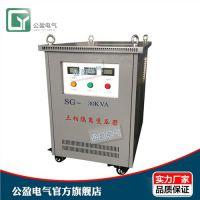 优质三相变压器 400V转220V 50kva变压器 公盈供