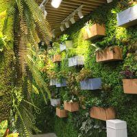 天津仿真植物墙 绿色草皮墙 人造绿植墙园艺仿真植物墙可来图定制