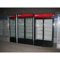 玻璃门冷冻柜SLG-1240立式|玻璃门展示柜|超市冷柜设备清单