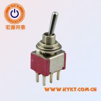 台湾原厂钮子开关T80-T,复位自锁多规格