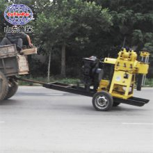 山东鲁探XYX-200轮式液压回转式钻机地质钻探机岩心钻机
