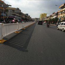 中山隔离栏马路围栏 广州安全栅栏防护 韶关河道隔离栏厂家