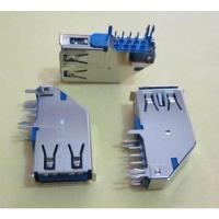 广佳源usb侧插长体母座usb3.0A母测立式90度