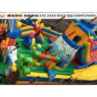 游戏屋淘气堡乐园蹦蹦床 乐园气模蹦床玩具定制 攀岩蹦蹦床城堡促销