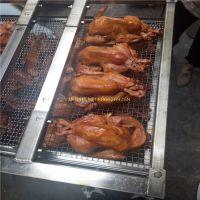 华钢主打白糖熏鸡烤炉,省电环保型电加热熏鸡设备