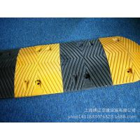 高强度橡胶菱型橡胶减速带耐压缓冲垫减速坡