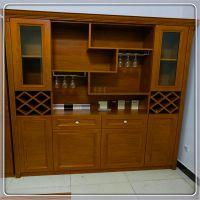 厂家直销定制全铝家具 伯利亚全铝酒柜 伯利亚来图定制铝合金酒柜