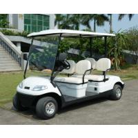四人座电动高尔夫观光车绅雅系列--绿通品牌