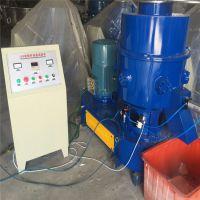 供应浙江德企150型塑料回收团粒机高速混炼机