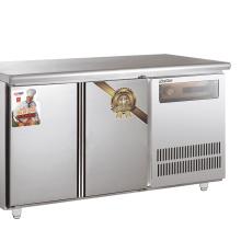 201不锈钢商用制冷工作台 1.5米平面 铜管机 低温速冻柜