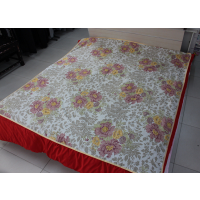 夏季藏红花睡宝 负离子磁疗降压养生床单枕巾三件套
