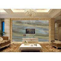 佛山彩虹石品牌 大理石电视客厅背景墙 欧式仿大理石背景墙
