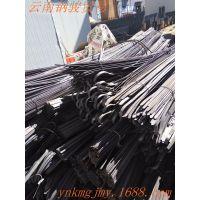 昆明钢材 精密扁钢 材质Q235 规格110*5 昆钢