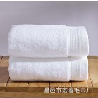 迎春雨酒店纯棉毛巾 高品质断档酒店用品按需求定制