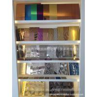 不锈钢电梯喷砂板材 无指纹不锈钢彩色板材 304广州联众