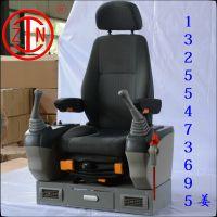 山东卡特挖掘机扶手箱座椅总成生产厂家