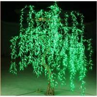 广东仿真树厂家 定做仿真柳树灯 led假灯树 发光树灯低价出售