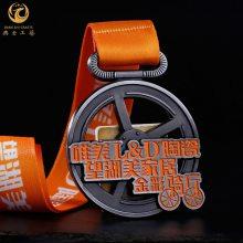 上海金属奖牌定制,合金纪念牌制作,运动会比赛金属挂牌批发