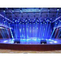 广州灯光音响舞台设备LED大屏低价出租 3d投影技术