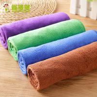 省多多 超吸水毛巾不掉毛超细竹纤维抹布不沾油擦地板家具擦桌