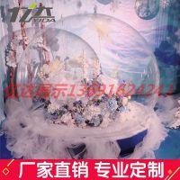 亚克力玻璃圆球空心塑料球透明亚克力展示球圣诞装饰大球