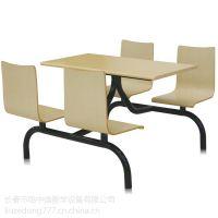 工厂直供全新钢木餐桌椅