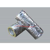 全国供应 空调保温风管 可伸缩铝箔保温管 玻璃棉保温管 厂家直销 量大从优