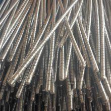 PCT包塑不锈钢穿条 7*1000 钢丝绳芯半不锈钢皮带穿条