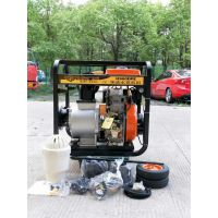 铜陵6寸柴油机铸铝混流泵