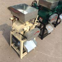 五谷杂粮加工挤扁破碎机 优质花生米破瓣机 食品加工设备