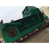 热销250吨卧式金属压块机 湖北废钢筋轻薄料压包机厂家山东思路机械