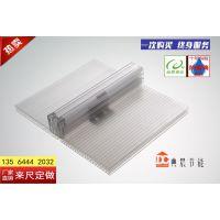 桂林阳光板厂家供应6mm蓝色阳光板,车库遮阳棚茶色耐力板 典晨品牌 行业领先