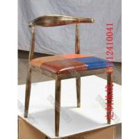 直销欧式铁艺餐椅休闲简约餐椅奶茶店椅子倍斯特家具定制