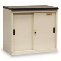 丰锰FM移门室外储物柜907*490*830mm(日本黄,1*隔板)金属办公家具