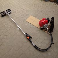充电式割草机 小型汽油背负式除草机 多用途锄地锄草机
