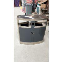 商场垃圾桶保证真品 青蓝大容量果皮箱系列 产业园垃圾桶