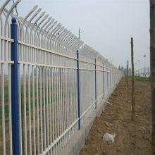 小学围墙护栏 镀锌方钢围栏的尺寸 锌钢道路护栏围栏推荐