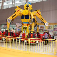 大型游乐场设备变形金刚,旅游景区好玩的游乐项目变形金刚厂家