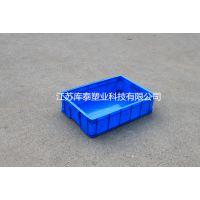 PE全新料塑料周转箱575-140箱大号浅箱餐具专用胶箱江苏常州
