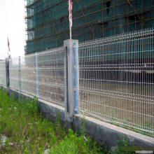 公路护栏网 双边丝护栏网厂家 厂区栅栏
