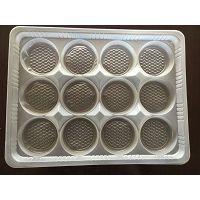 无锡真辉吸塑包装厂供应生活PET塑料制品食品吸塑包装透明蛋糕塑料盒航空部件托盘