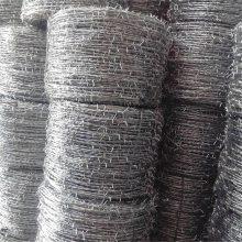 钢丝刺线 刺线柱子 刀片刺绳厂