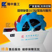 大型双轮斗洗砂机厂家 上海螺旋洗砂机生产线