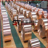 盛泰供应:进口特硬c1020紫铜带 h65拉伸专用黄铜带